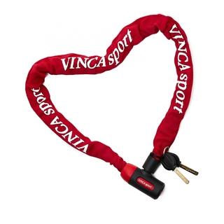 Велозамок-цепь Vinca sport 101.759 red