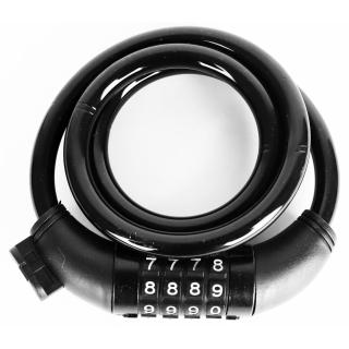 Велозамок кодовый Vinca sport черный