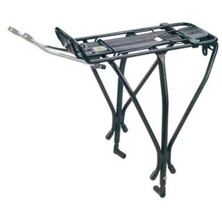 Багажник для велосипеда с дисковыми тормозами Vinca sport H-AL 17 black