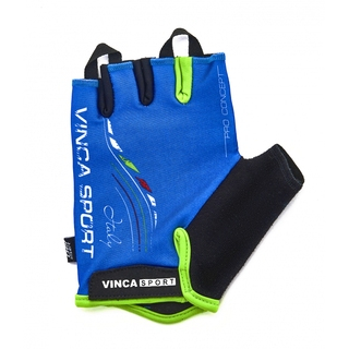 Велоперчатки Vinca sport VG 934 blue italy