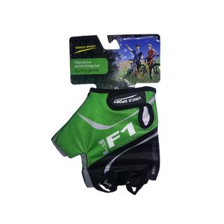 Велоперчатки Vinca sport VG 924 green
