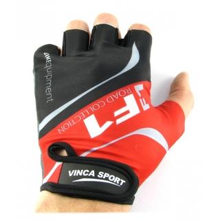 Велоперчатки Vinca sport VG 924 red