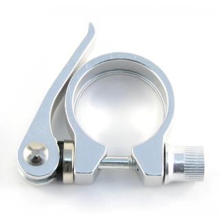 Зажим подседельного штыря с эксцентриком Vinca sport VC 12-2 silver