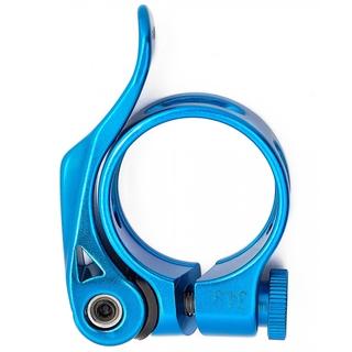 Зажим подседельного штыря с эксцентриком Vinca sport VC 12-2 blue