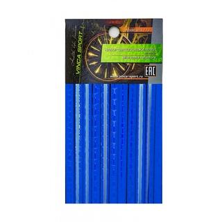 Набор светоотражающих накладок Vinca sport STA 113 blue