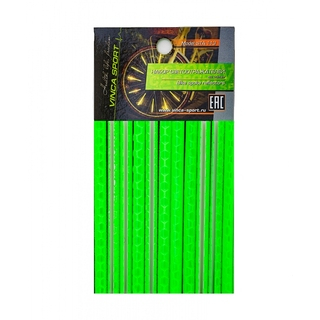 Набор светоотражающих накладок Vinca sport STA 113 green