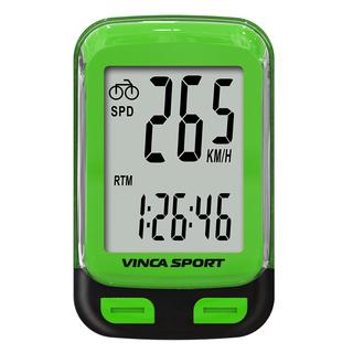 Велокомпьютер проводной Vinca sport с подсветкой экрана