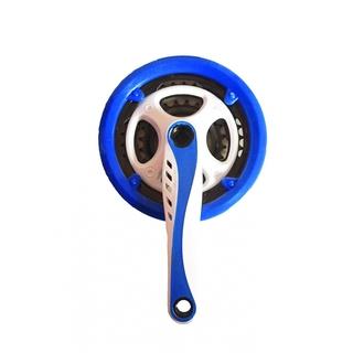 Система шатунов Vinca sport CW 12 white/blue