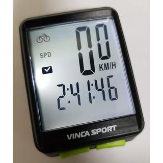 Велокомпьютер беспроводной Vinca sport с подсветкой экрана