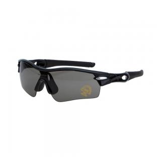 Велоочки со сменными линзами Vinca sport VG 02 black