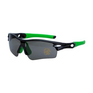Велоочки со сменными линзами Vinca sport VG 25 black green