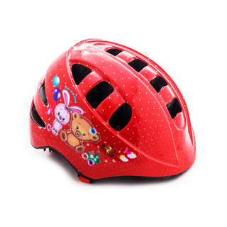 Велошлем детский Vinca sport мишка и зайка, размер M