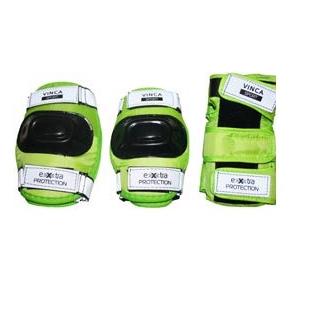 Комплект детской защиты со светоотращающими застежками, размер XS