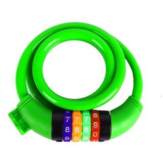 Велозамок кодовый Vinca sport зеленый