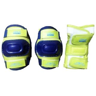 Комплект детской защиты лайм, размер M
